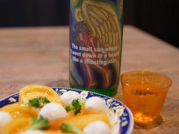 トマトとモツレラチーズ by Sake芯