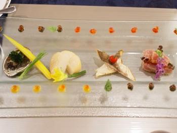 海の幸と野菜のマリネ