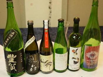 春の創作フレンチと日本酒